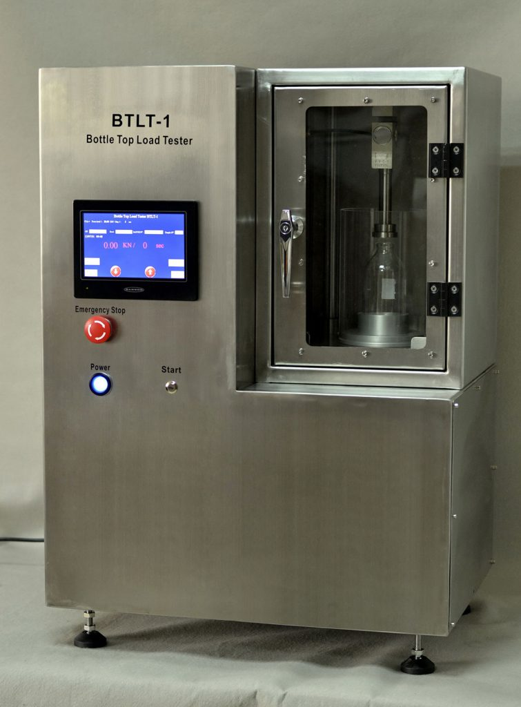 BTLT- 1 Glass Bottle Top Load Tester – Maximum Top Load Resistance Tester for Glass Bottles Image