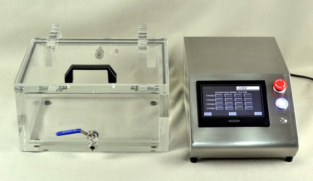 VLT PLC Vacuum Leak Tester (PLC Model) (Air and water tight test box: vacuum test) Image