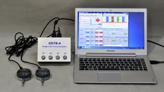GDTB-4 Gauge Data Transportation Box Image