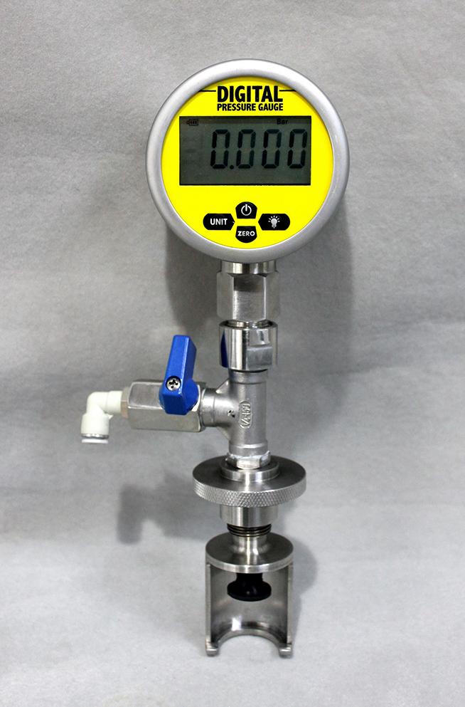 PVG-P- Portable Pressure or Vacuum Gauge Image